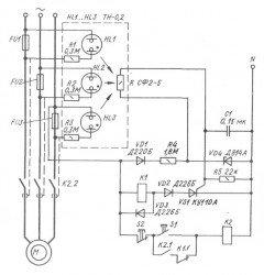 Тепловая защита электродвигателя