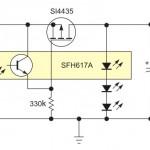LDO стабилизатор на основе оптоизолятора