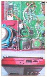 Индикатор разряда батареи аккумулятора на светодиоде