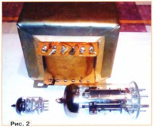 Выходной трансформатор лампового усилителя экспромт