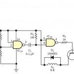Схема индикатора напряжения на микросхеме