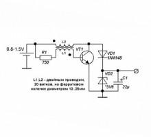 Повышающий преобразователь dc dc на одном транзисторе