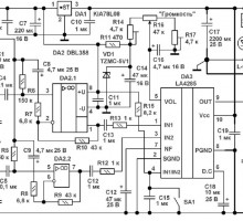 Усилитель мощности на микросхеме LA4285