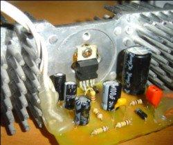 Микросхема TDA2003 монофонический усилитель