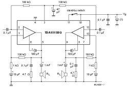 TDA1515 микросхема
