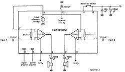 TDA1516 микросхема