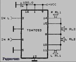 tda7053 микросхема