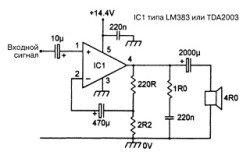 ИС LM383