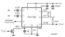 TDA7396 схема