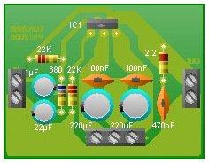 TDA2050 усилитель низкой частоты