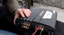 Подключение усилителя к аккумулятору