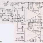 Усилитель на двух микросхемах TBA820M