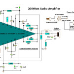 УНЧ на микросхеме STK4050V мощностью 200Вт