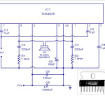 Схема усилителя на TDA4935