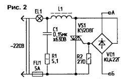 простые тиристорные регуляторы