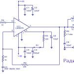 Усилитель мощности 50Вт на микросхеме LM3876