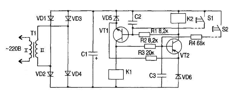 замена механического переключателя на электронный