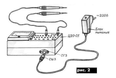 Измерительный прибор тестер от 220В