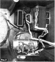 акустический кабель соединен с акустической системой
