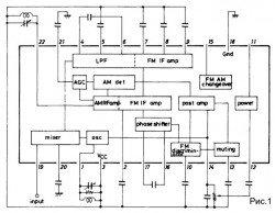 Простая схема радиоприемника la1800