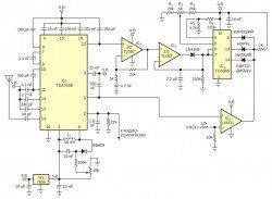 ЧМ приеминк со встроенным индикатором уровня сигнала