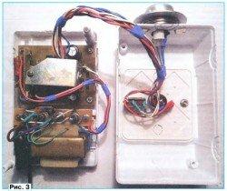 Электронный терморегулятор в корпусе